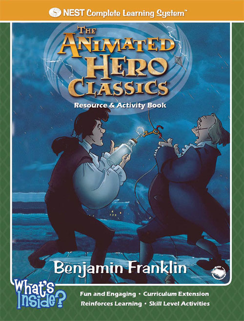 Animated Hero Classics Benjamin Franklin - Scientist & Inventor