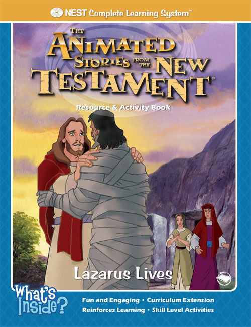 Animated Stories of the New Testament Lazarus Lives