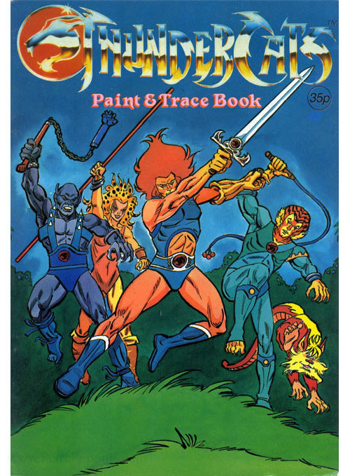 ThunderCats (1985) Paint & Trace Book
