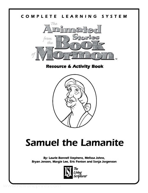 Animated Stories from the Book of Mormon Samuel the Lamanite
