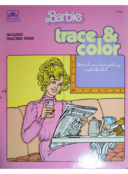 Barbie Trace and Color