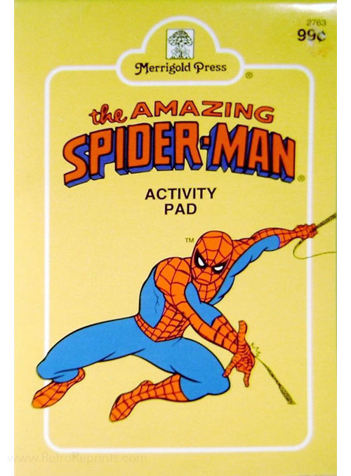 Spider-Man Activity Pad