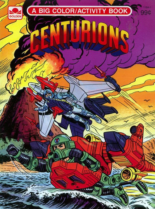 Centurions Coloring and Activity Book
