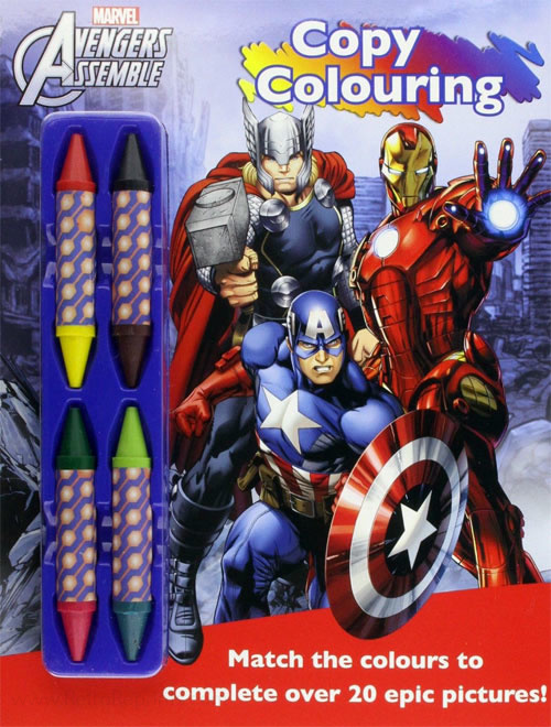 Avengers Copy Colouring Book