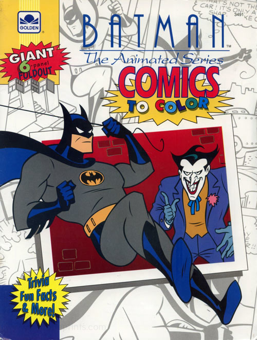 Batman: The Animated Series Comics to Color