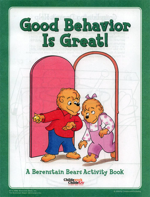 Berenstain Bears, The Good Behavior Activity Book