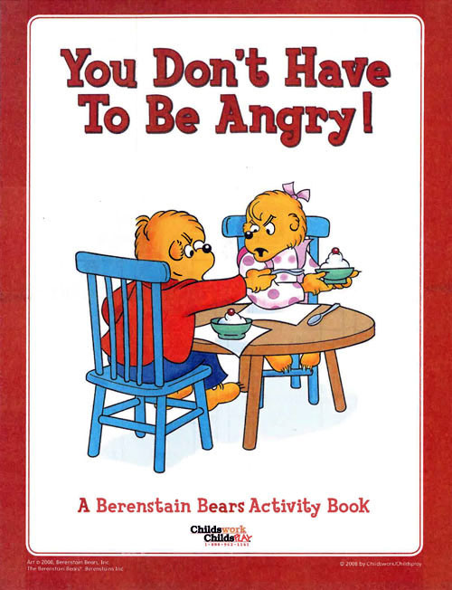 Berenstain Bears, The You Don't Have to Be Angry Activity Book