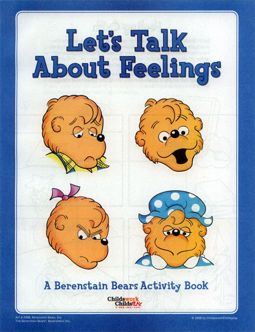 Berenstain Bears, The Talk About Feelings Activity Book