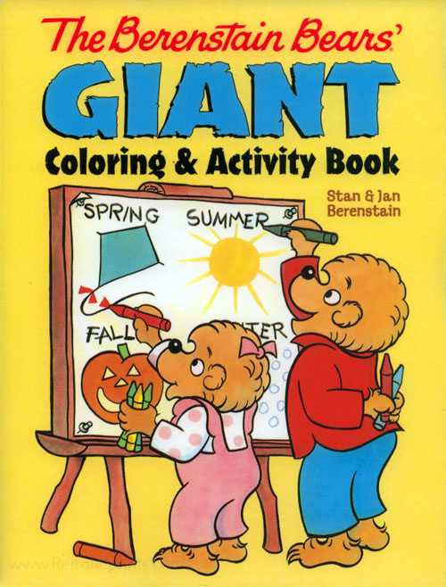 Berenstain Bears, The Coloring & Activity Book
