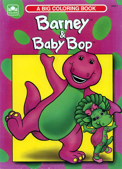 Barney & Friends Coloring Book