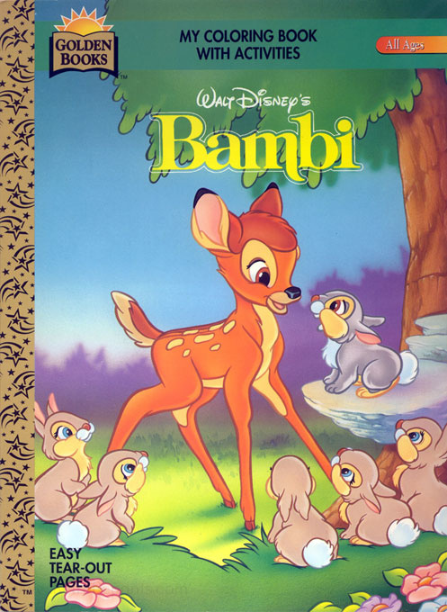 Bambi, Disney's Coloring and Activity Book