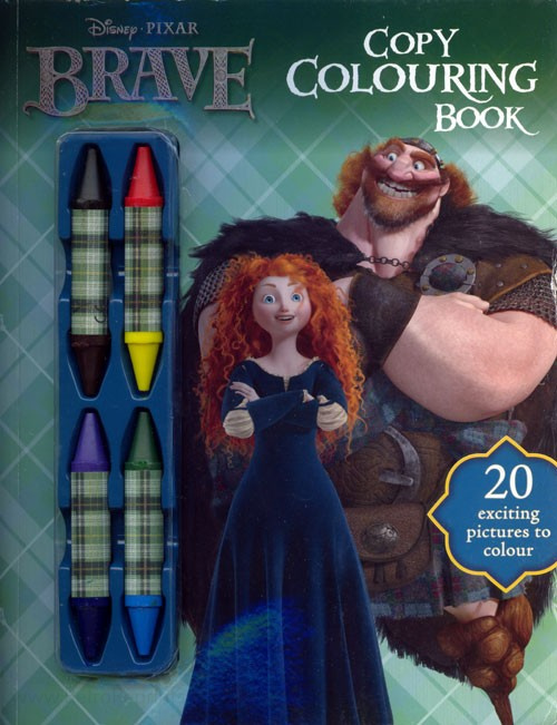 Brave, Pixar's Copy Colouring Book