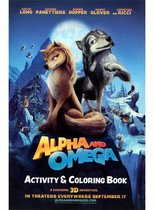 Alpha and Omega Activity & Coloring Book