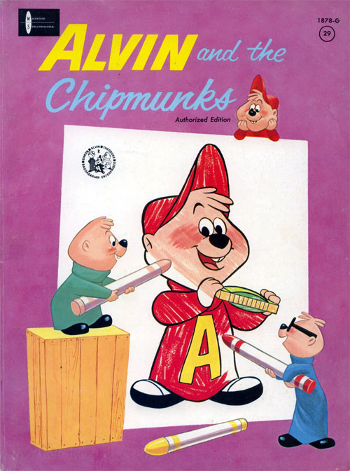 Alvin Show, The Coloring Book