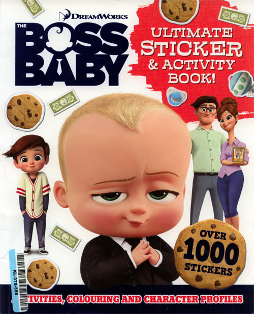 Boss Baby, The Activity Book