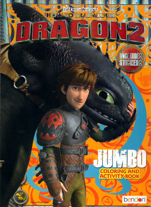 How to Train Your Dragon 2 Coloring and Activity Book