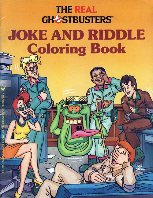 Real Ghostbusters, The Joke and Riddle