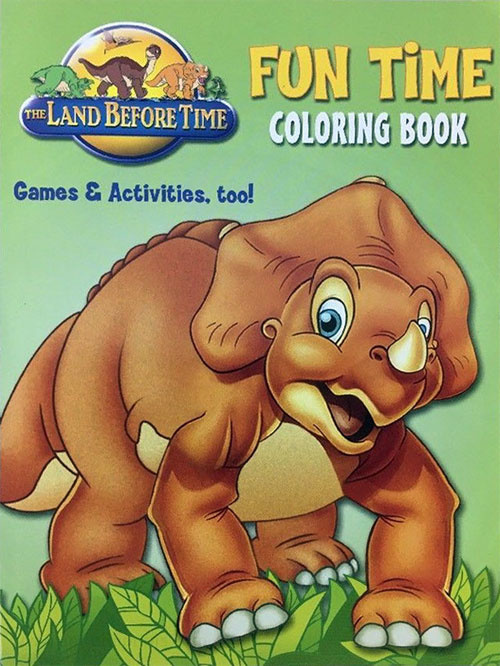 - Land Before Time, The Coloring Book Coloring Books At Retro Reprints -  The World's Largest Coloring Book Archive!