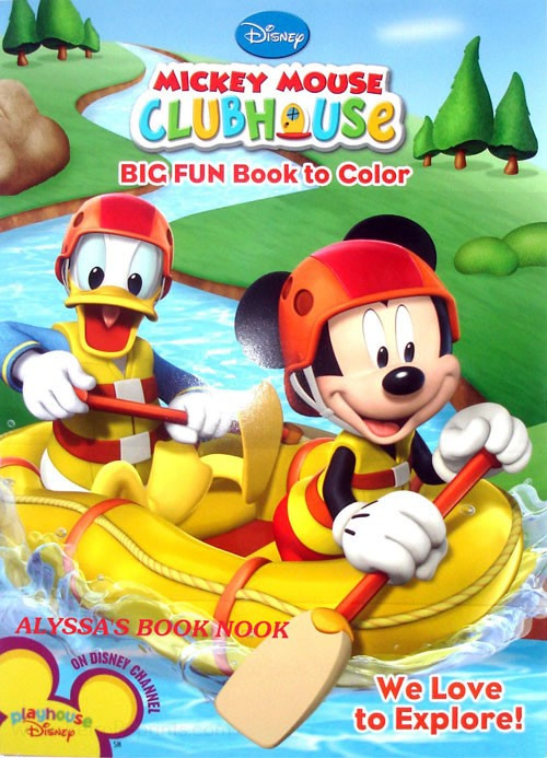 - Mickey Mouse Clubhouse We Love To Explore! Coloring Books At Retro  Reprints - The World's Largest Coloring Book Archive!