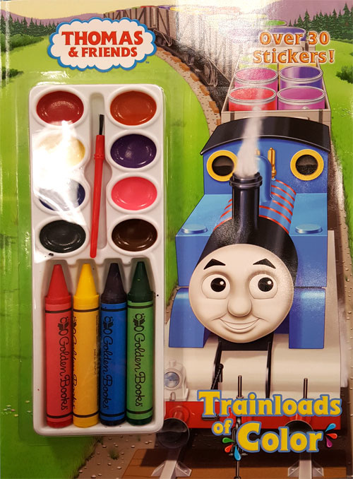 Thomas & Friends Trainloads Of Color Coloring Books At Retro Reprints -  The World's Largest Coloring Book Archive!