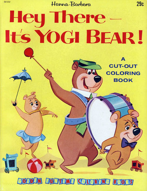 Hey There It S Yogi Bear Hey There It S Yogi Bear Coloring Books At Retro Reprints The World S Largest Coloring Book Archive