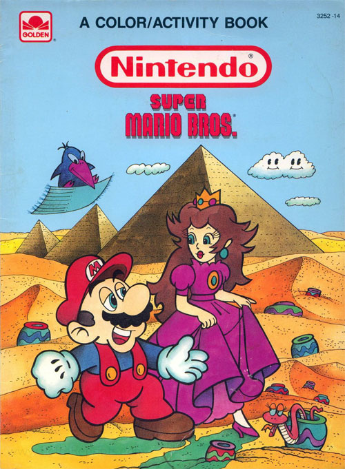 Super Mario Bros. Coloring And Activity Book Coloring Books At Retro  Reprints - The World's Largest Coloring Book Archive!