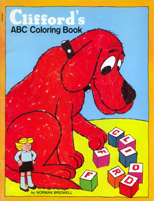 Clifford The Big Red Dog ABC Coloring Book Coloring Books At Retro  Reprints - The World's Largest Coloring Book Archive!