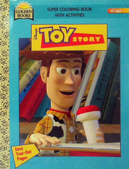 Toy Story Coloring And Activity Book Coloring Books At Retro Reprints -  The World's Largest Coloring Book Archive!