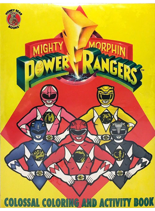 Mighty Morphin Power Rangers Coloring And Activity Book Coloring Books At  Retro Reprints - The World's Largest Coloring Book Archive!